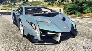 Lamborghini Veneno Blue - lamborghini veneno 2013 for gta 5