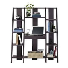 Ladder Bookcase Target Altra Ladder Bookcase With Desk