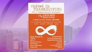united interfaith encounters united in thanksgiving