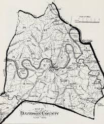 County Map Of Tennessee by Nashville History Nashville And Davidson County Maps