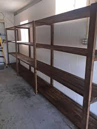 best 25 diy garage storage shelves ideas on pinterest