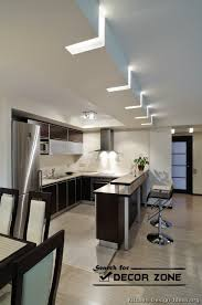 lighting ideas for kitchen ceiling stylish kitchen ceiling lights ideas black and white theme