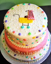 colorful baby shower cakes home design inspirations