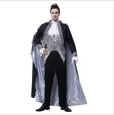 Halloween Vampire Costume Aliexpress Buy Free Shipping Style Silver Men
