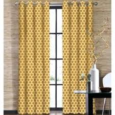 Yellow Patterned Curtains Yellow Patterned Kitchen Curtains Mustard Yellow Blackout Curtains