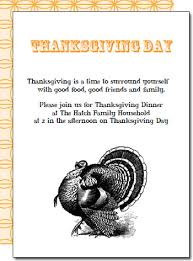 free printable thanksgiving dinner invites happy thanksgiving