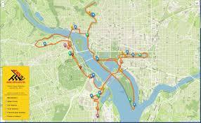 Marathon Route Map by 2015 Marine Corps Marathon Weekend Events Information U003e Marine