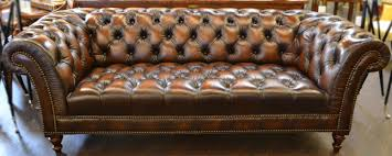 Henredon Leather Sofa Luxury Furniture Store In San Diego Orange County Los Angeles