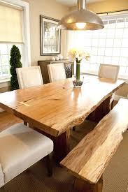 Rustic Dining Room Table With Bench Best Modern Rustic Dining Table Ideas On Dinning Rooms Tables