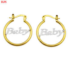 aliexpress buy new arrival 18k real gold plated new arrival 2015 baby hoop earrings for 18k real