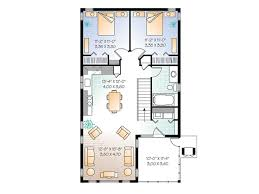 garage apartment plans carriage house plan with tandem bay