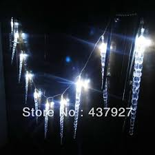 led dripping icicle christmas lights wholesale 10m 100 led clear white blue dripping icicle shape