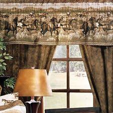 Horse Kitchen Curtains Western Curtains Ebay