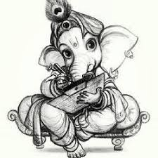 lord ganesha pencil sketch at rs 1000 piece agraharam chennai
