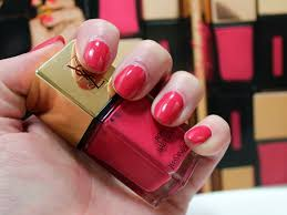 yves saint laurent rose baby doll la laque couture nail lacquer