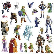 3d Hole Murals 3d Cake Image Roommates Rmk2780scs Zelda Ocarina Of Time 3d Peel And Stick Wall