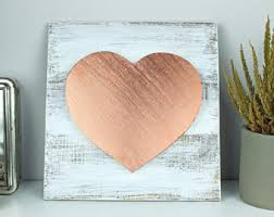 Rose Gold Home Decor by Gold Home Decor Etsy