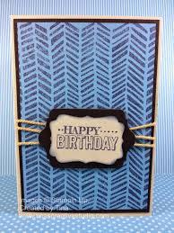 tina u0027s creative studio easy male birthday card using handcarved