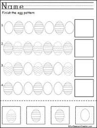 Easter Egg Decorating Ideas Preschool by Easter Egg Templet Easter Egg Pattern And Shiny Paint Recipe