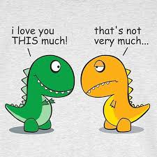 Funny T Rex Meme - i love you this much t rex problems weknowmemes