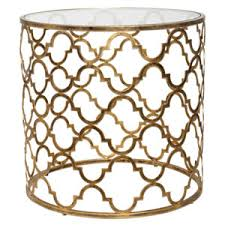 Quatrefoil Console Table Uttermost Quatrefoil Gold Coffee Table On Sale