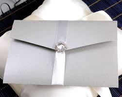 Wedding Invitations With Ribbon Ribbons Crystal U0026 Shimmering Material Invitations Trendy Mods Com