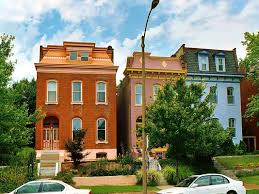 lafayette square row houses lafayette square neighborhood st louis a photo on
