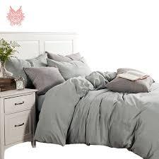 free grey beige white duvet cover set 100 cotton luxury bedding set sabanas type ropa de cama jogo de cama sp1962 in bedding sets from home