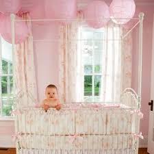 Shabby Chic Crib Bumper by Win Your Custom Crib Bedding From Carousel Designs