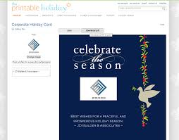 how to make a corporate christmas card business holiday card