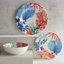 thanksgiving melamine plates coral reef melamine dinnerware pier 1 imports