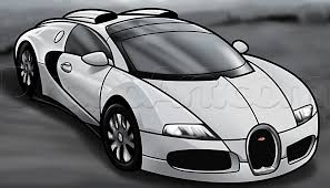 bugatti concept car how to draw a bugatti veyron step by step cars draw cars online