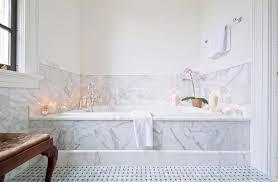 Grey Marble Bathroom Floor  Brightpulseus - Bathtub backsplash