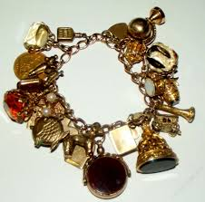 antique charm bracelet images Antiques atlas a heavy victorian gold charm bracelet jpg