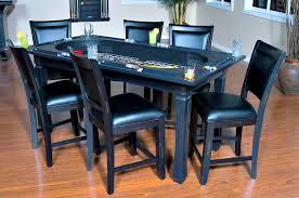 poker game table set burlington 3 in 1 peppercorn inside out home recreation