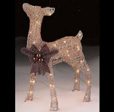 Solar Christmas Lights Australia - lighted christmas deer ebay