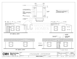 Floor Plans For Trailer Homes Floor Plans Golden Exclusive Series Tlc Manufactured Homes