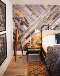 peel and stick wood panels provide an instant reclaimed look