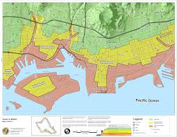 Harbor College Map Hawaii State Tsunami Evacuation Maps