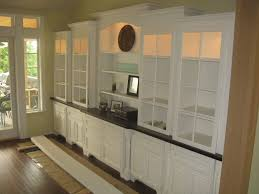 beautiful built ins for the dining room use glass shelves home