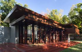 Frank Lloyd Wright Style Home Plans by At Crystal Bridges Museum Frank Lloyd Wright U0027s Bachman Wilson