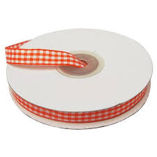 checkered ribbon 3 8 gingham checkered ribbon 25 yard efavormart