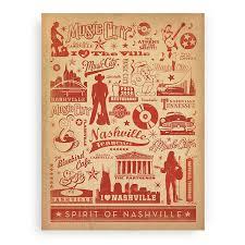spirit of nashville wall wood prints licensed woodsnap