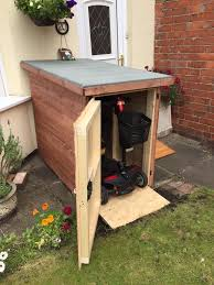 mobility scooter sheds for sale made to order 5ft x 4ft 280 00