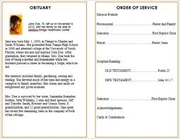 template for memorial service program memorial bulletins for funerals funeral memorial program