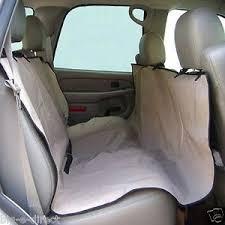 universal waterproof car back seat cover pet dog cat rear seat