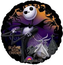 nightmare before 18 foil balloon by disney