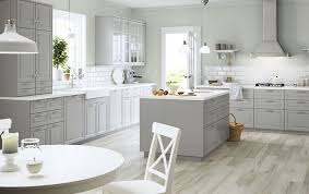 ikea kitchen island catalogue a large grey country kitchen with a lot of drawers wall cabinets