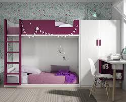 chambre fille avec lit superposé chambre enfant avec lit superposé meubles ros meubles ros