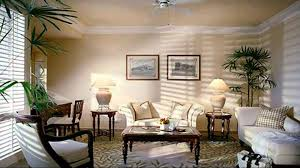 cream wall interior living of old colonial homes has whitesofas